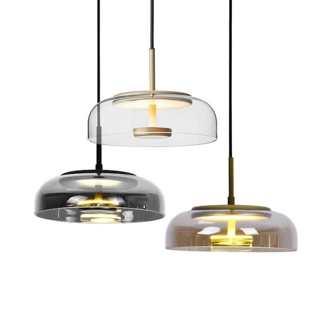 Modern Led Chandelier Lighting Fixtures Living Room Dining Room Bar Nordic Contemporary Chandelier Ceiling Light Glass Lustre