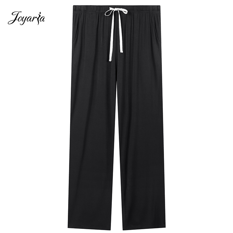 Joyaria Womens Drawstring Sleep Pants Lounge Pajama Sweatpants With Pockets Sleep Bottoms Pajamas Pants For Women