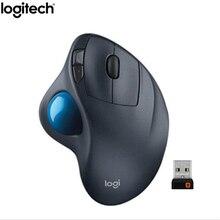 Produttore ristrutturato: Logitech M570 2.4Ghz del Mouse Trackball Senza Fili Ergonomico Verticale di Disegno Professionale Mouse Laser