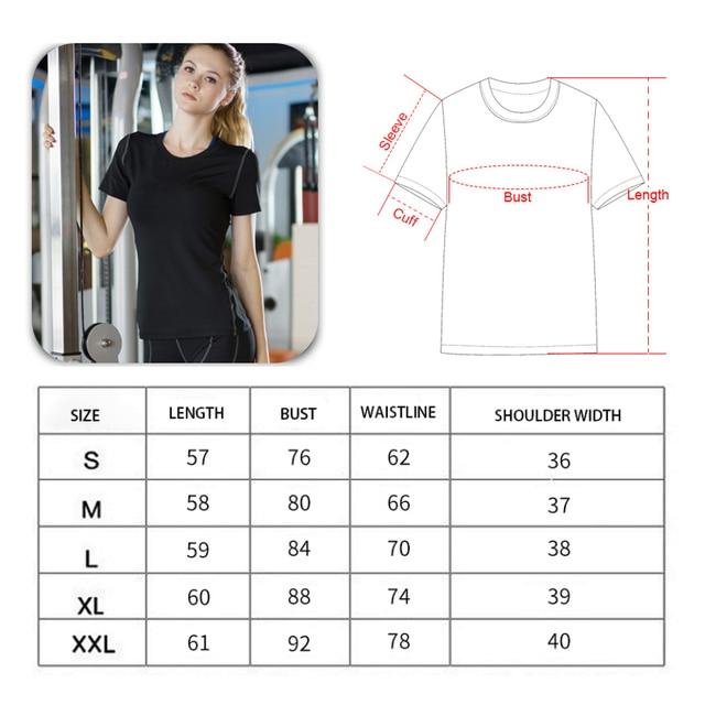 Ladies Quick Drying Fitness Shirt 6