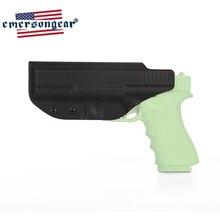 Emersongear pistola coldre g17 g22 g31 glock coldre dentro escondido transportar cós pistola cinto clipe acessórios mão direita