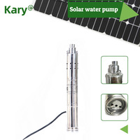 120m lift 48v 60v DC submersible solar water pump,S483T 120 model 1 hp 1.5HP deep well solar powered water pumps