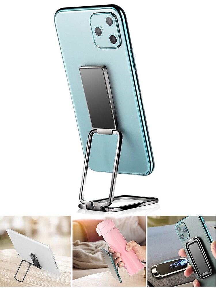 Universal Mobile Phone Stand Multi function Double Ring Holder Phone Stand Finger Phone Stand 360 Rotation Finger Ring Holder
