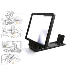 Stand-Bracket Magnifier Phone-Desk-Holder Mobile-Phone-Screen HD with Movie-Game Folding
