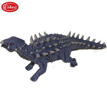 Dinosaurio Jurassic World figura de acción juguetes simulación Saichania plástico Pvc modelo colección para niños regalos