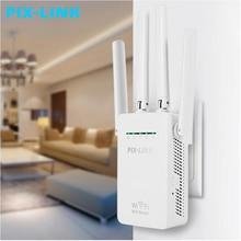 PIXLINK 300Mbps WR09 Wireless WIFI Router WIFI Repeater Booster Extenderเครือข่ายภายในบ้าน 802.11b/g/n RJ45 2 พอร์ตWilreless N wi Fi