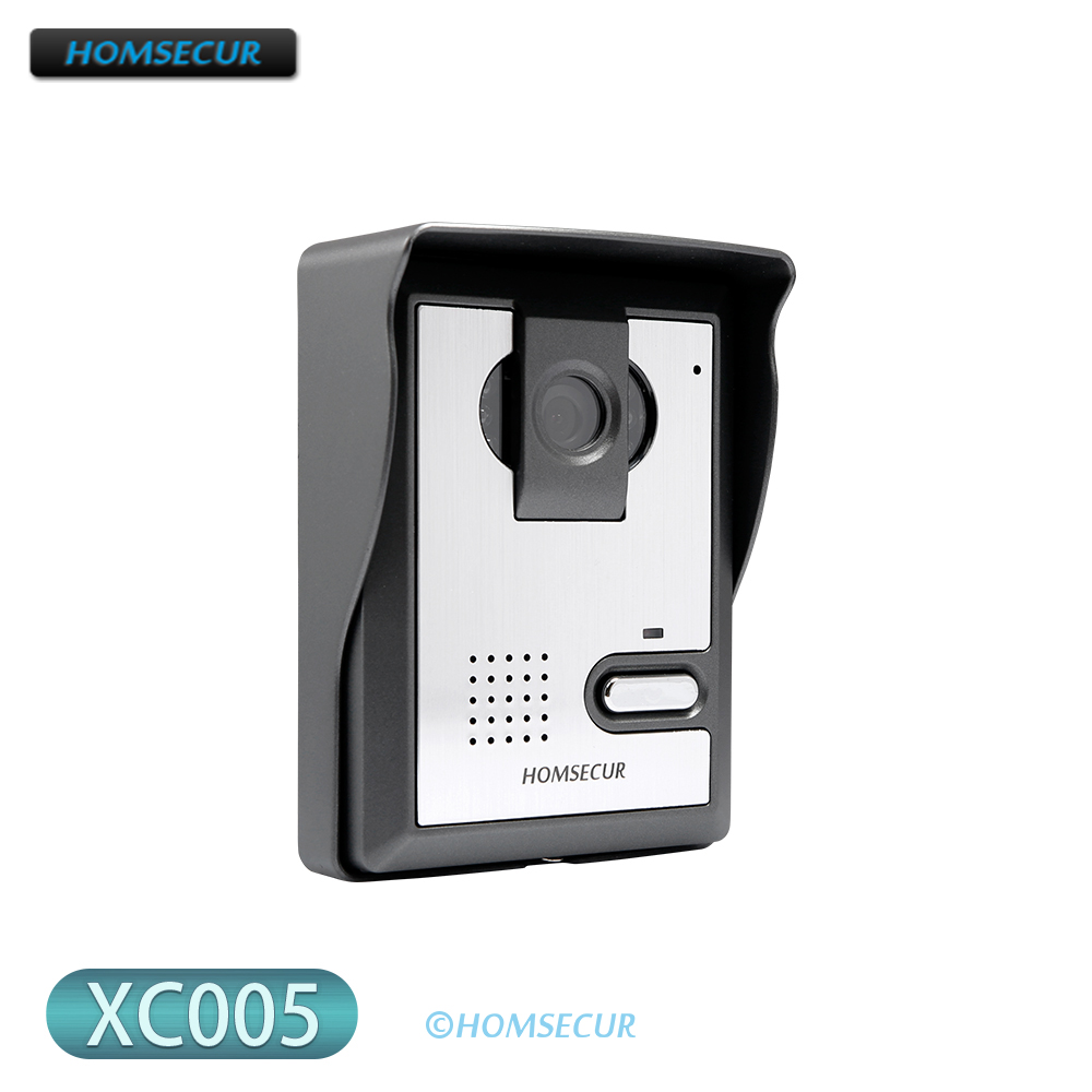 Outdoor Intercom Unit XC005 Surface Mount Supported 700TVLine for HOMSECUR HDS Series Video Door Phone Intercom System