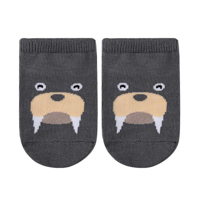 3D Cartoon Animal Print Socks 5