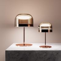 이탈리아 포스트 모던 하드웨어 책상 램프 아트 베드 사이드 침실 거실 연구 디자이너 라이트 럭셔리 책상 램프