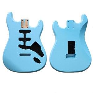 Image 1 - نيترو انتهى لتقوم بها بنفسك SSS سونيك الأزرق ألدر ST الغيتار الجسم ل SSS اليدوية الكهربائية عِدد جيتار