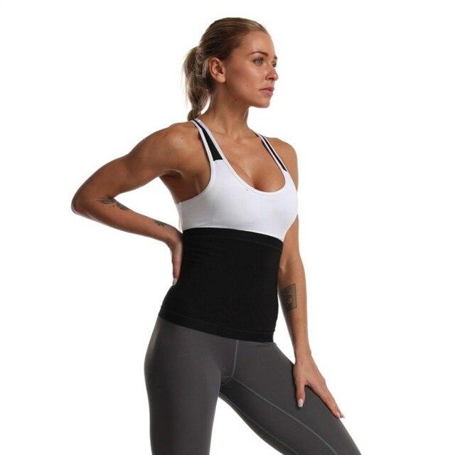 Waist Trimmer Belts Weight Loss Sweat Band Wrap Fat Tummy Stomach Sauna Sweat Belts Sport Safe Accessories 2
