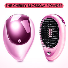 Portable Electric Ionic Hairbrush Hair Massage Comb Hair Magic Beauty Brush Comb Massage Tool Home Travel Hair Styling(China)
