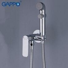 GAPPO Bidets bathroom toilet shower bidet portable bidet mixer muslim shower wall mount Spray Shattaf