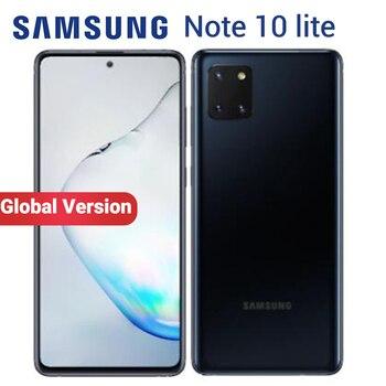 Перейти на Алиэкспресс и купить Мобильный телефон Samsung Galaxy Note 10 Lite, 8 Гб 128 ГБ, NFC Exynos 9810, N770F/DS, 6,7 дюйма, фронтальная камера 32 МП, две SIM-карты, смартфон 4500 мАч