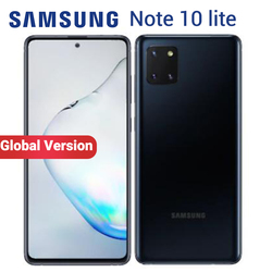 Global Samsung Galaxy Note 10 Lite 8GB 128GB Mobile Phone NFC Exynos 9810 N770F/DS 6.7