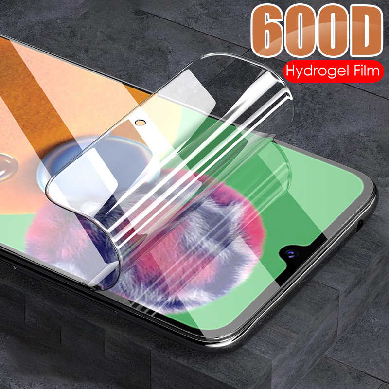 3-In-1 Front & Back Hydrogel Film Screen Protector Voor Samsung Galaxy A11 A21 A31 A41 M11 m21 M31 M51 Camera Lens Film