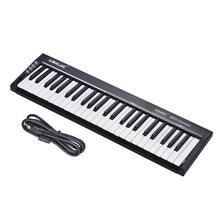 WORLDE KS49C 49-klucz USB klawiatura MIDI kontroler z 6.35mm gniazda pedał MIDI Out darmowa wysyłka