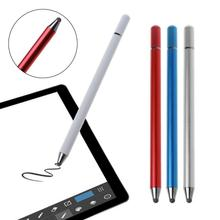 Anti-fingerprints Portable Silica gel Nib Capacitive Touch Screen Stylus Pen Compatible For All Touch Screen Smartphones Tablets