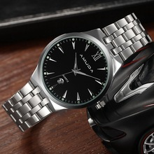 Genuine Product amuda Watch for Both Men And Women Fashion Casual Quartz Watch England College Genuine Leather Watch Men's