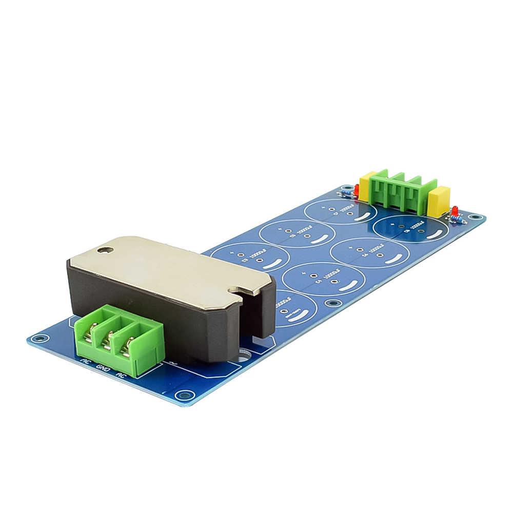 AIYIMA 100A filtr prostownika podwójna moc zasilania Audio prostownik pokładzie 50V 63V 10000uF wysoki prąd DIY kina domowego