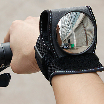 Cycling Wrist Mirror Rear View Rearview Safety Bike Arm Back Mirror WEST BIKING Bicycle Rear Reflector Wrist Mirror west biking bicycle cycling rear view mirror mount riding sunglasses rearview mirror bike back mirrors rear view eyeglasses