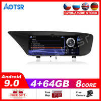 Car Multimedia Player Stereo GPS DVD Radio NAVI Android9.0 4+64GB Screen for Lexus GS F L10 GS200t GS300 GS350 GS450h 2012~2019