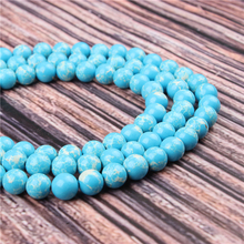 Hot Sale Natural Stone Emperor Landi 15.5 PicBlue Peacockk Size 4/6/8/10/12mm fit Diy Charms Beads Jewelry Making Accessories