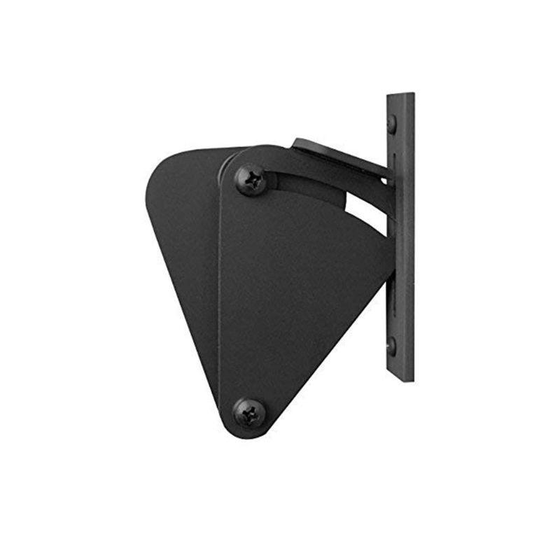 "Sliding Barn Door Latch Lock Work for Pocket Doors Garage and Shed Wood Gates 2 3/16"" X1 9/16"" Steel"