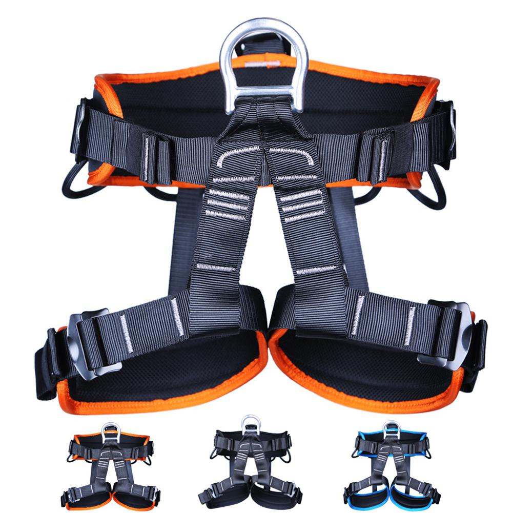 HobbyLane Professional Harness Bust Seat Belt Rock Climbing Mountaineering Belt Harness Rappelling Equipment Rescue Safety Belt