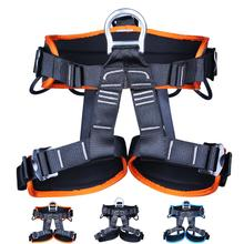 HobbyLane Professional Harness Bust Seat Belt Rock Climbing Mountaineering Belt Harness Rappelling Equipment Rescue Safety Belt professional full body 5 point safety harness seat sitting bust belt rock climbing rescue fall arrest protection gear equipment