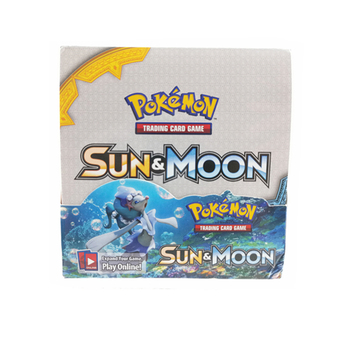 360pcs Pokemon Cards TCG: Sun & Moon Evolutions Hidden Fates Trading Card Game A Box of 36 Bags Collection Cards Kid Toy Card 2