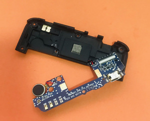 Image 2 - Used Original USB Plug Charge Board+loud speaker For Homtom S7 MTK6737 Quad Core Free shipping