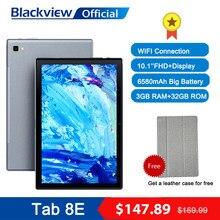 Blackview tab 8e 10.1 Polegada android 10 wifi tablet pc 3gb ram 32gb rom 13mp câmera traseira 6580mah bateria octa núcleo alto-falantes duplos