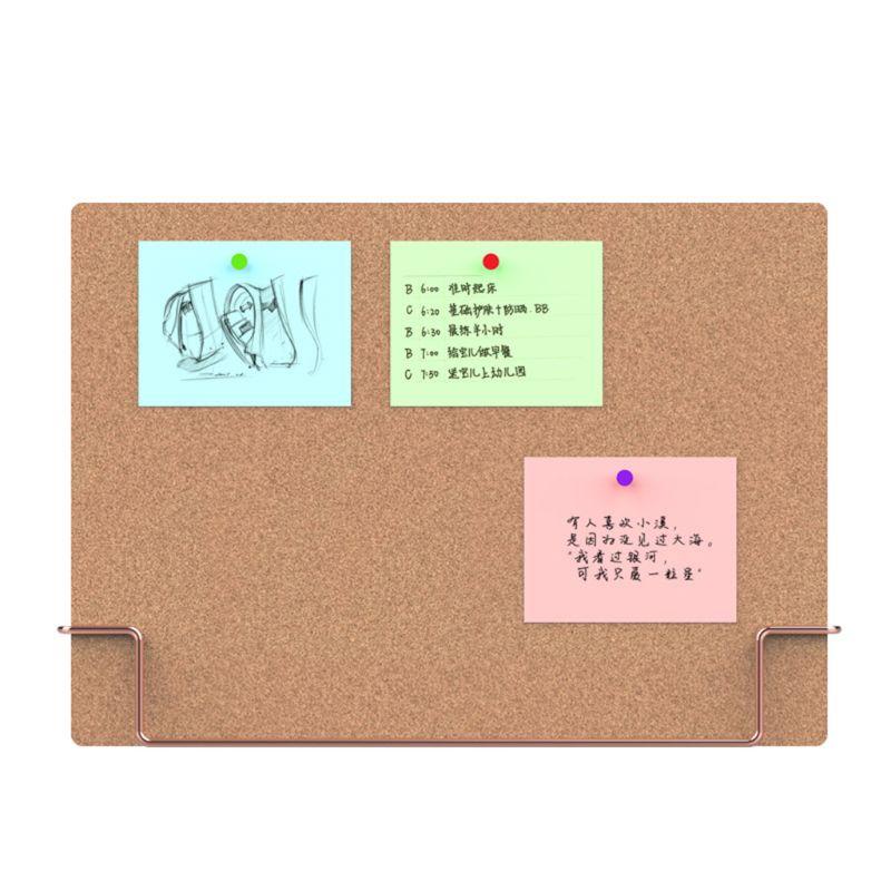 Organizer-Supplies Cork-Board Memo Notice-Display Message Office Environmentally Natural