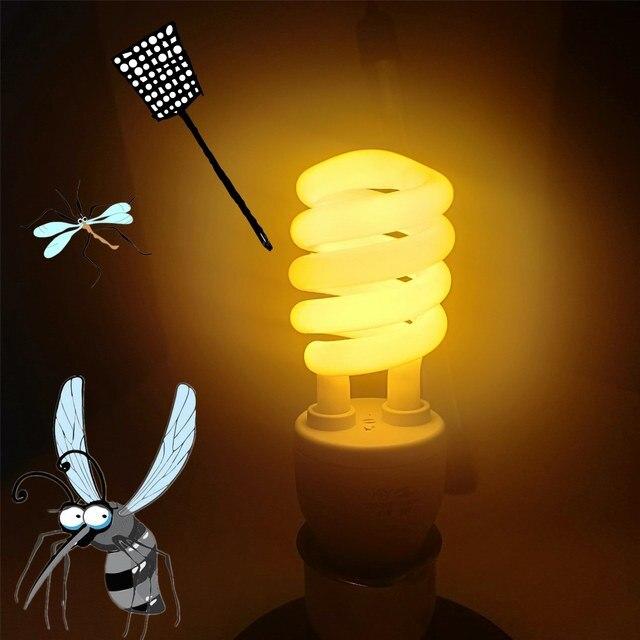 Флуоресцентный репеллент от комаров желтый светильник спиральная
