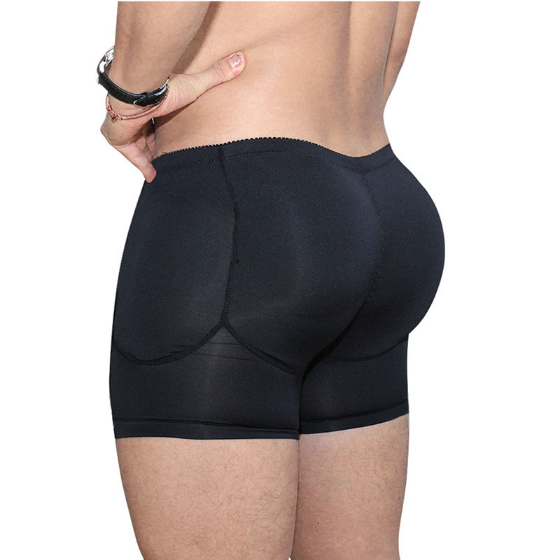 Butt Enhancer Butt Pads For Men Fake Butt Shorts Fake Ass Men Shape Panty Shaper Butt Enhancer Sexy Tummy Control Shaping Brief
