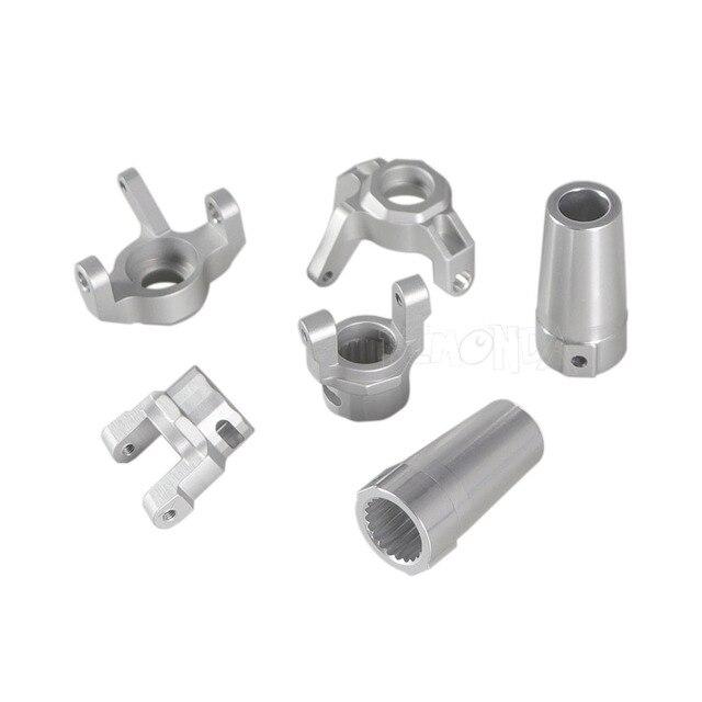 Eje de accionamiento de Coche RC Negro Eje de accionamiento Universal de aleaci/ón de Aluminio 106-138 mm para Tamiya CC01 1//10 RC Crawler
