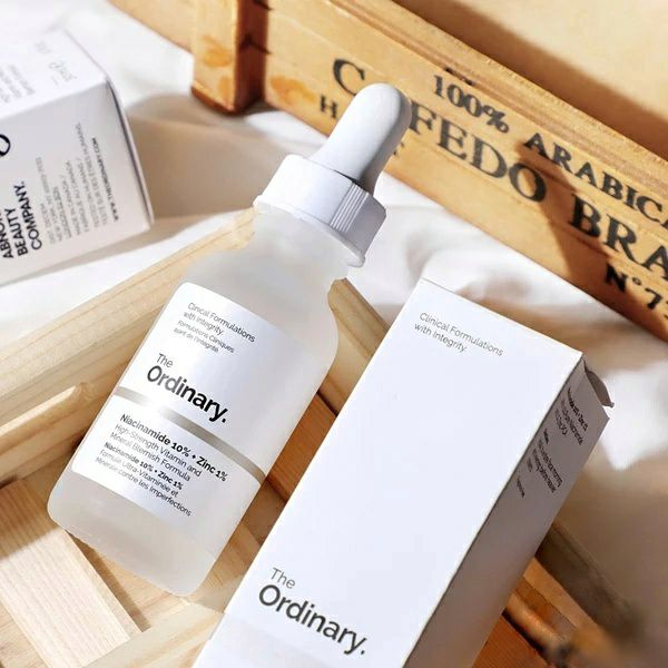 30ML The Ordinary Niacinamide 10% + Zinc 1% The Ordinary Set Skin Care Serum Oil Balance Reduce Blemishes Whitening Moisturizer