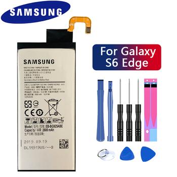 SAMSUNG oryginalny wymienna bateria EB-BG925ABE 2600mAh dla Samsung GALAXY S6 krawędzi G9250 G925FQ G925F G925S S6Edge G925V G925A tanie i dobre opinie 2201 mAh-2800 mAh