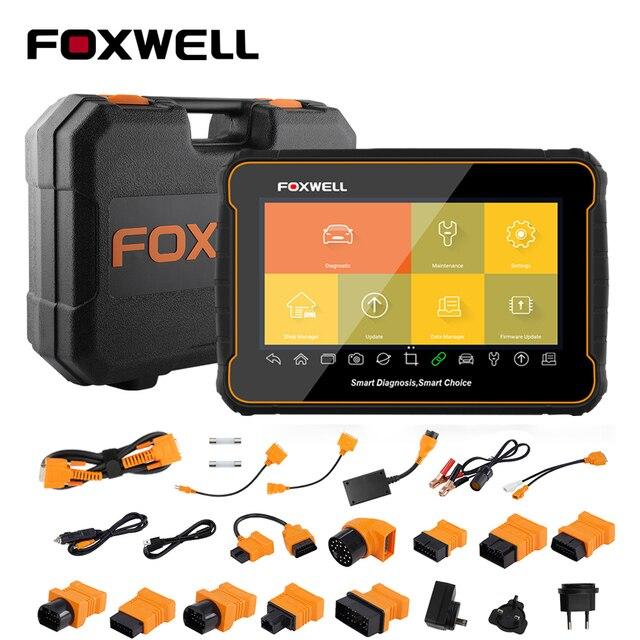 Foxwell GT60 Plus Full System OBD2 Automotive Scanner Actuation&Coding ABS Bleeding DPF ODB2 OBD 2 Car Auto Diagnostic Tool