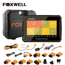 Foxwell herramienta de diagnóstico automático de coche, OBD2 sistema completo, escáner automotriz de accionamiento y codificación ABS, sangrado DPF ODB2 OBD 2, GT60 Plus