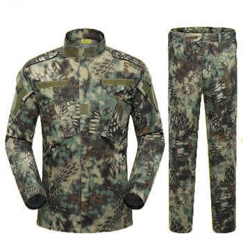 Desert & Jungle Military Jacket Tactical Clothing Warrior Combat-proven Airsoft Uniform Camouflage Suit S-XL Man Costumes ACU - DISCOUNT ITEM  39% OFF All Category