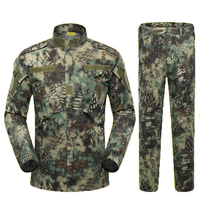 Desert & Jungle Military Jacket Tactical Clothing Warrior Combat proven Airsoft Uniform Camouflage Suit S XL Man Costumes ACU