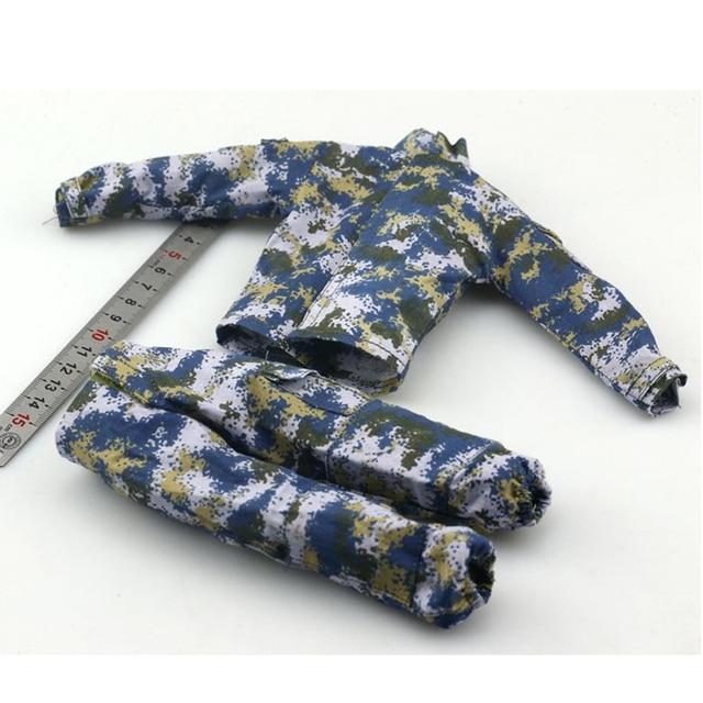 1/6 חיל הים חייל פעולה דמויות קרב בגדי חליפת עבור 12 סנטימטרים זכר פעולה דמויות