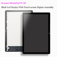 """10.1 """"Voor Huawei Mediapad T5 10 AGS2 L09 AGS2 W09 AGS2 L03 AGS2 W19 Lcd scherm Met Touch Screen Digitizer Vergadering Glas Film"""