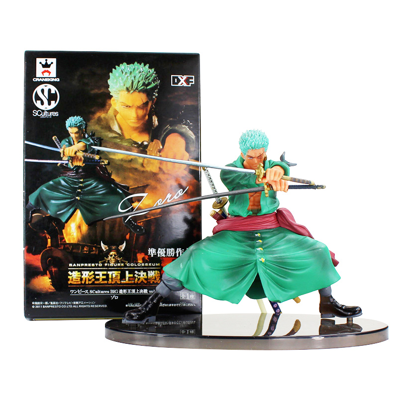 Anime One Piece Decisive Battle Ver Roronoa Zoro Dolls Action Figure Decoration