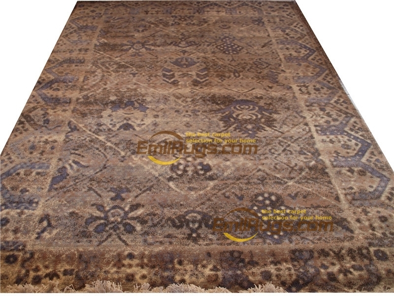 Handwoven Wool Carpets Modern Hand Made Wool Rug  Design Nice Handwoven For Carpets Living Room Round Rug Antique