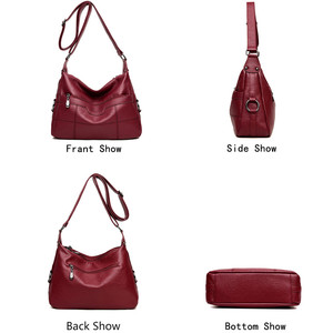 Image 4 - Brand Luxury Handbags Women Bags Designer Handbags High Quality Leaher Shoulder Crossbody Bags For Women 2018 Sac A Main Femme