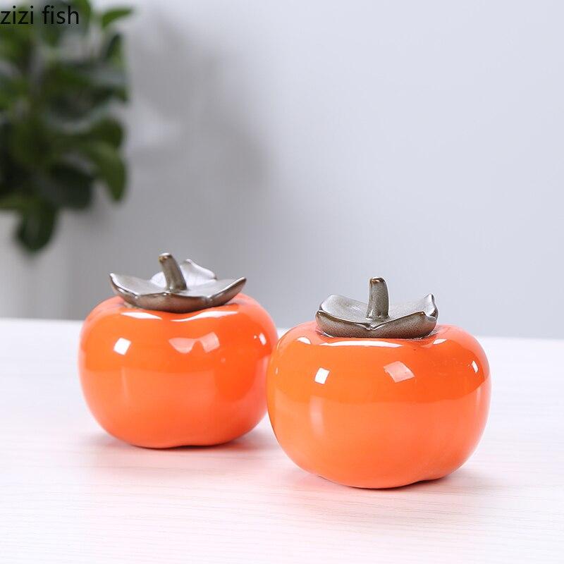 Китайские керамические контейнеры для чая компактный мини портативный «зеленый чай запечатанные банки резервуар для хранения путешествия чай коробка хранение чая