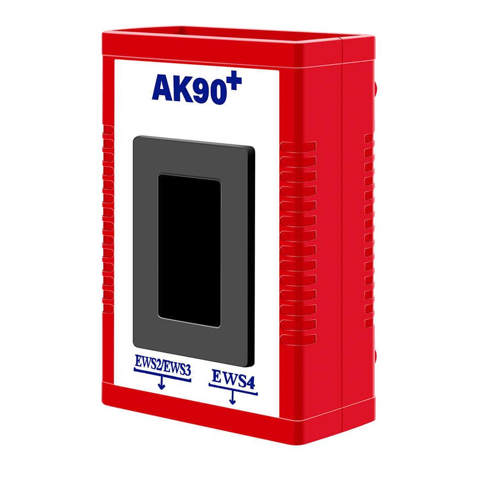 Più nuovo AK90 plus Per BMW AK90 + Auto Programmatore Chiave Per BMW EWS V3.19 AK90 OBD2 Chiave di Programmazione